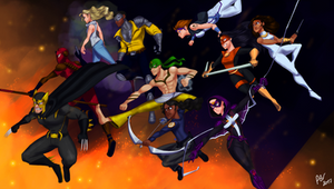 Dark Claw and the Outlaws by PedroBRV