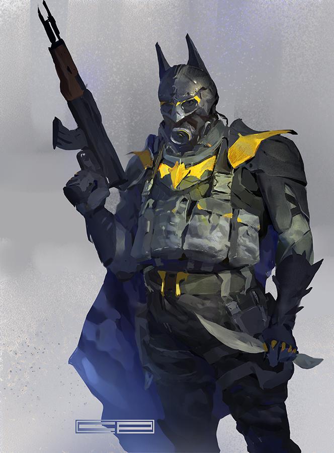 Batman redesign by ClaudioPilia