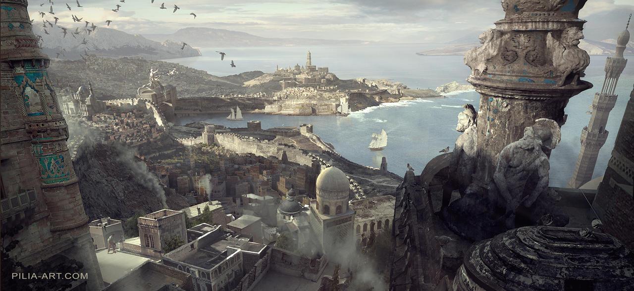 Game of Thrones: Tyrosh II - Unseen Westeros by ClaudioPilia