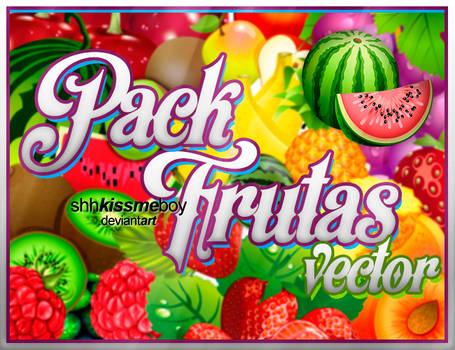 PACK DE FRUTAS VECTOR .png by ShhKissMeBoy