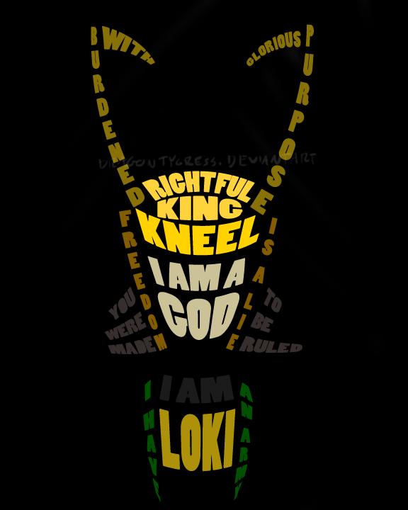 I Am Loki By DragonTygress