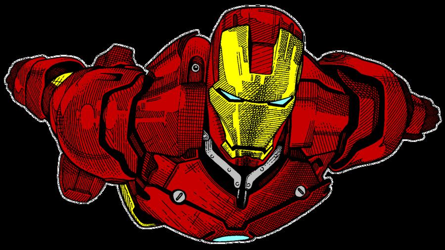 Iron Man Sketch 02 By Timothygreenii Color By Matt2106 On Deviantart
