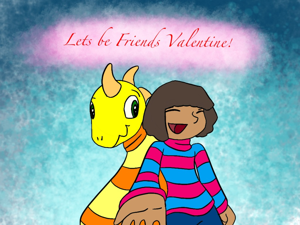 Friends Valentine by Violyd