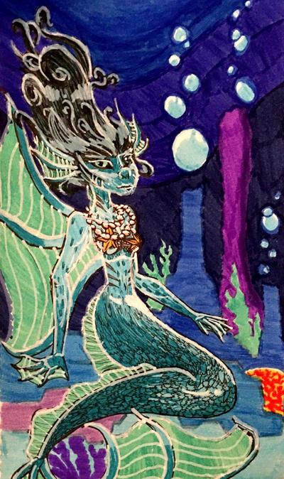 Mermaid by Violyd
