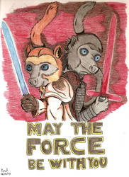 [Fantasy Lemurs] Lemurs of the Force by NightDragon07
