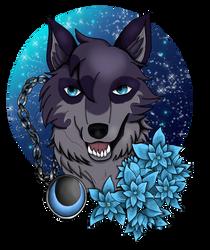 Aron with hydrangeas by NightDragon07
