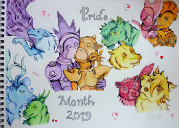 Pride Month 2019 by NightDragon07