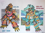 [Robotmaster oc] CND-012 and CND-013