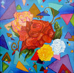 Abstract Roses ... by NightDragon07