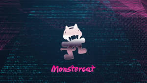 Monstercat 80s background