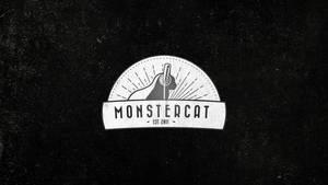 Vintage Monstercat Logo Wallpaper