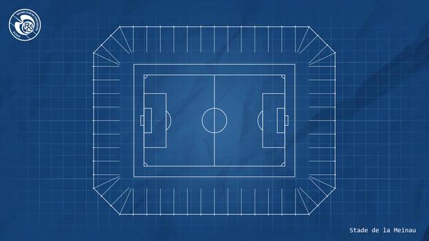 Blue Print : Stade de la Meinau