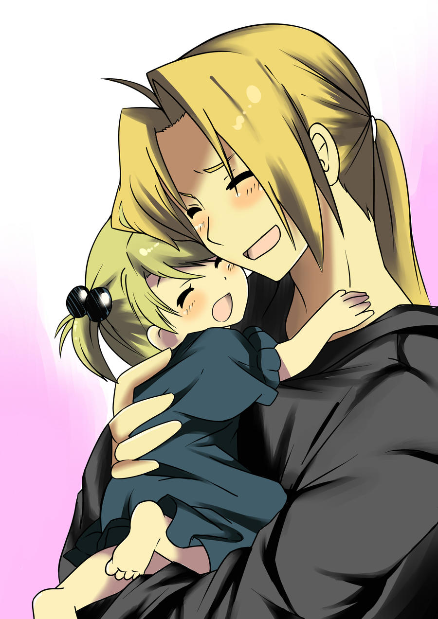 edward elric n daughter by akenreborn619