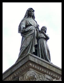 Statue de Sainte Anne by Oo-Erendis-oO
