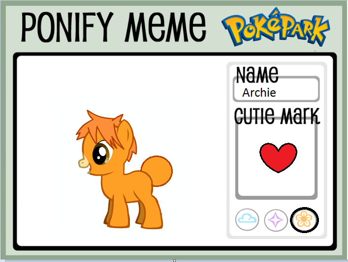 PokePark dA: Archie Ponify Meme by mistyfoxx244