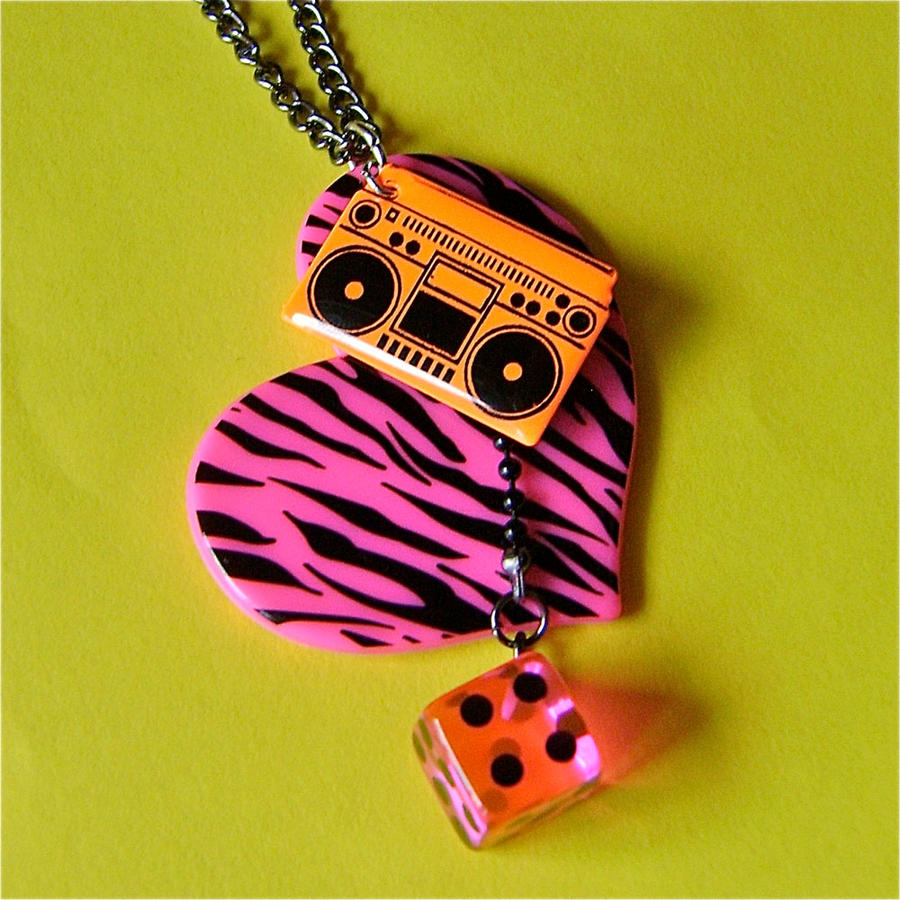 i the 80s necklace by quirkz on deviantart