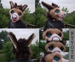 Serenity fursuit head