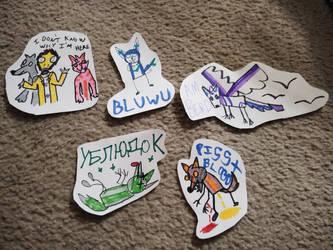 poopy badges