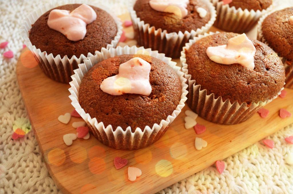 360 - Happy Valentine's Day Muffin by Cocuri