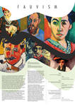 Fauvism Movement - Poster(Artboard)