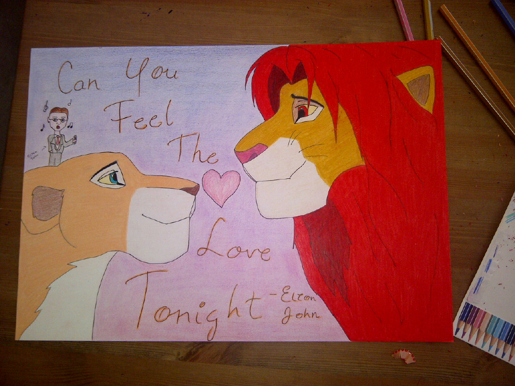 Simba Nala - Can you feel the love tonight by Gareira on ...
