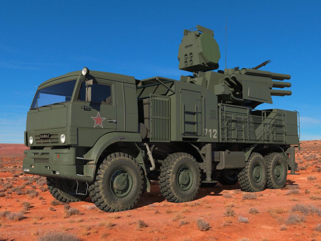 Arma antiaérea russa Pantsir S-1: Brasil deve fechar compra em 2015