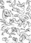 sketch dinos 2