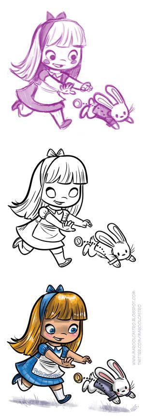 Alice process