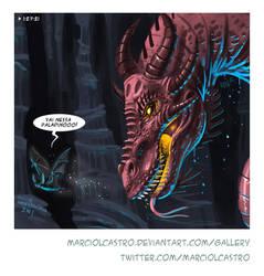 red dragon by marciolcastro