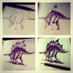 Stegosaurus process
