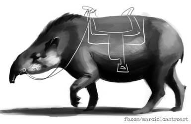 Anta (Tapir) - WIP by marciolcastro
