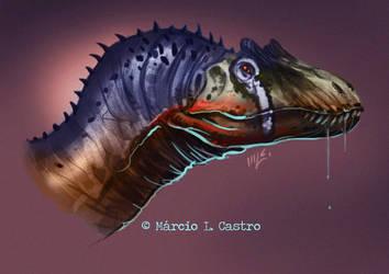 Allosaurus by marciolcastro