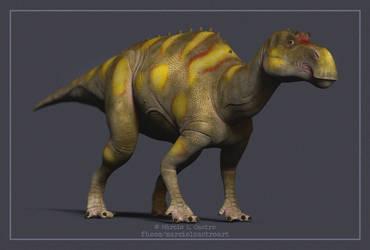 Maiasaura by marciolcastro