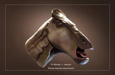 Saurolophus by marciolcastro