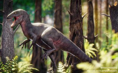 Retro Megalossauro