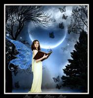 Lady with Butterflies by Rai-Rai-Black-Rose