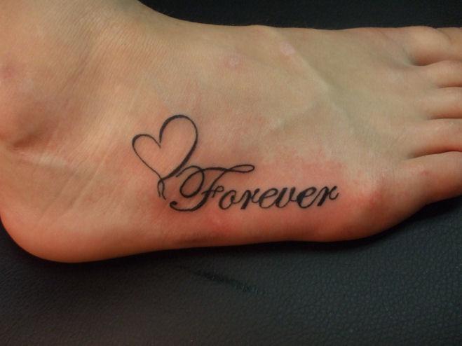 Forever Heart on foot by Demonsin-Sanctus
