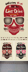 The Last Drive ' Silkscreen by tind
