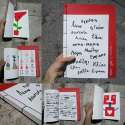 Silkscreen Printed Children's Book