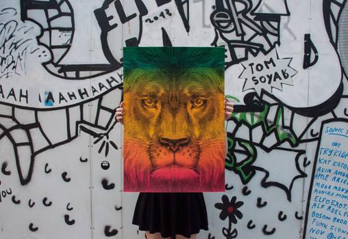 Lion / International Reggae Poster Contest 2013
