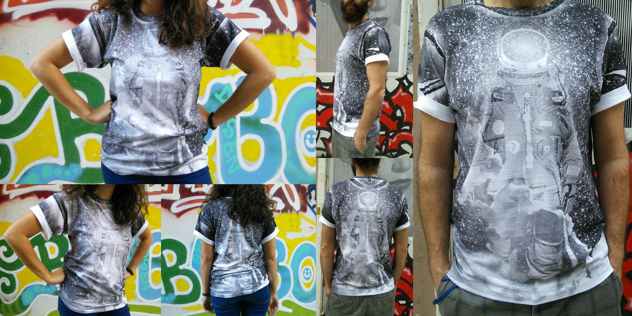 Spaceman t-shirt by tind