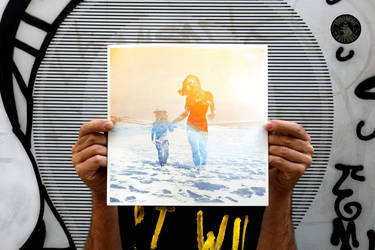 Mama Universe and Baby Universe, Silkscreen Print
