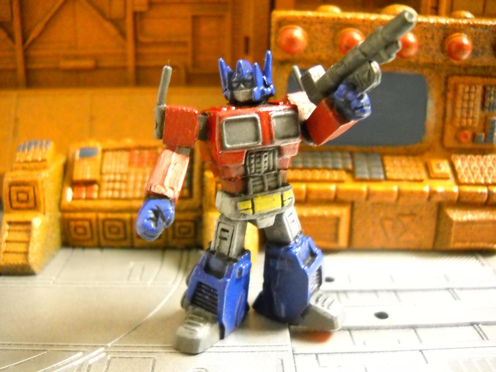 Transformers Optimus Prime 15mm RPG miniature by Prowlcop