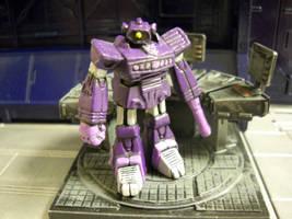 Transformers Shockwave 15mm RPG miniature
