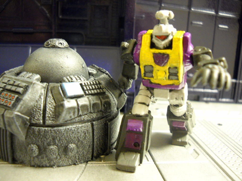 Transformers Bombshell 15mm RPG miniature by Prowlcop