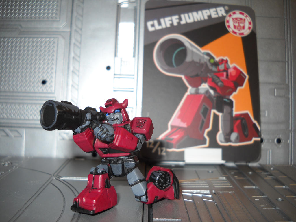 Transformers Robots in Disguise Cliffjumper by Prowlcop