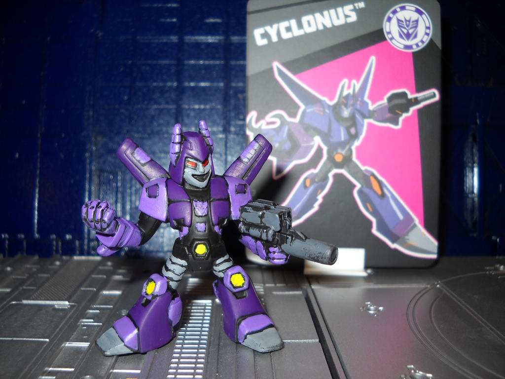 Transformers Robots in Disguise Cyclonus by Prowlcop