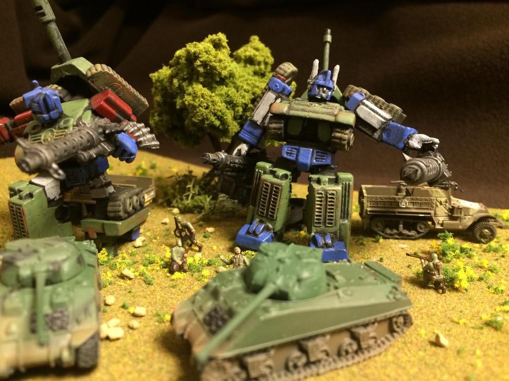 Transformers alternate universe WW2 by Prowlcop