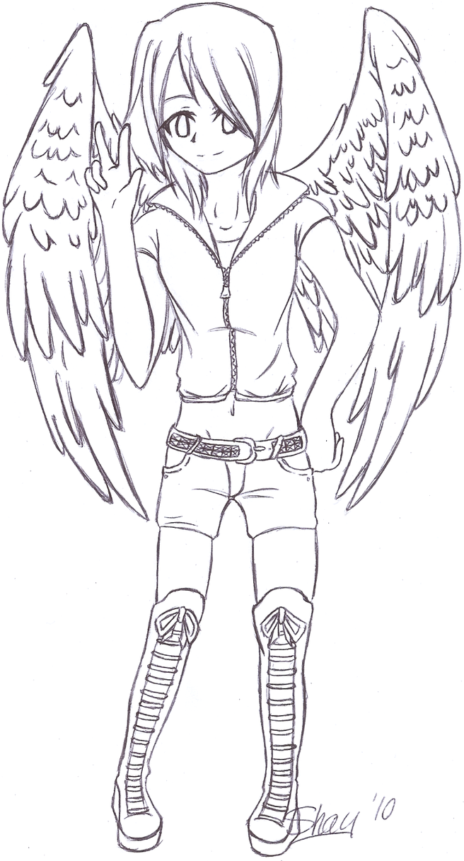 Alyssa - Maximum Ride OC by shaybby
