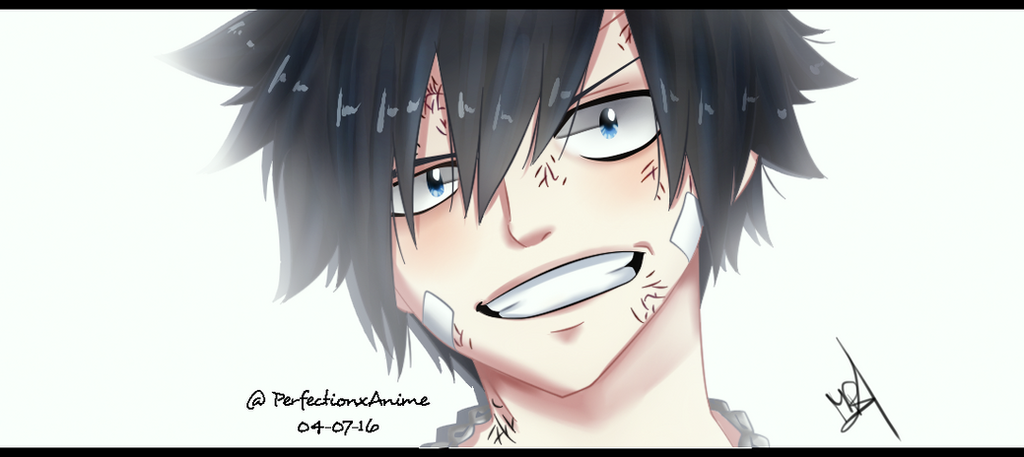 Fairy Tail - Gray Fullbuster by Perfectionxanime on DeviantArt